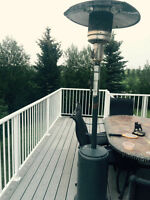 large propane patio heater