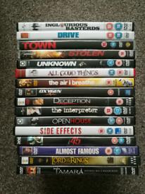 DVDs Thriller, Drama, Horror