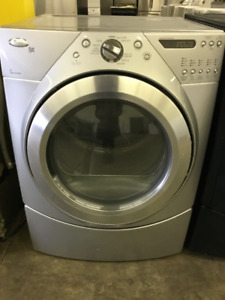 Whirlpool Duet Stainless Steel Front Load Dryer