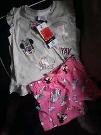 Brand new with tags kids clothes /pjs (OFFERS)