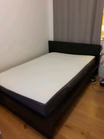 Doble IKEA bed & mattress