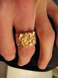 10K yellow gold ring West Island Greater Montréal image 2