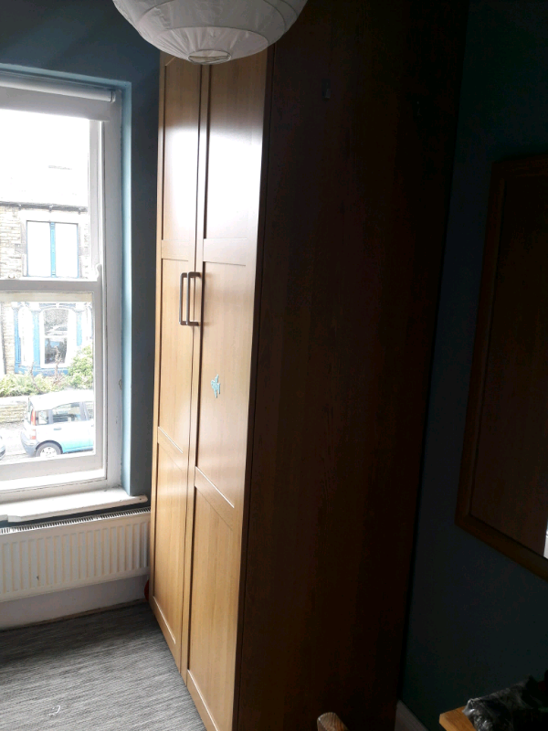 Free Ikea Pax Wardrobe Oak Effect In Sheffield South