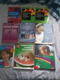 Child and social work books