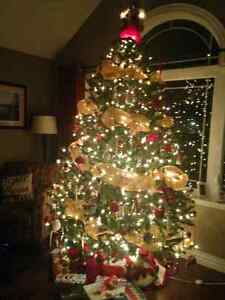 8 foot Christmas tree