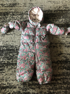 18-24 month size girl snow suit