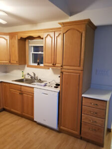 Cabinets, Flooring, appliances for sale