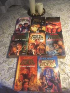 8 livre / roman star wars gros format