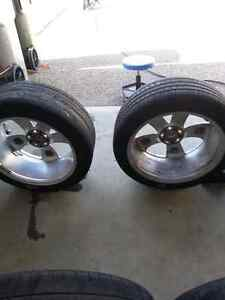 """20"""" Srt Alcoa forged rims dodge charger challenger magnum 300 Strathcona County Edmonton Area image 2"""