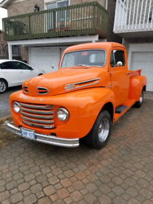 1950 Ford f100 with new rebuilt engine