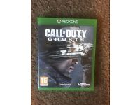 Xbox one call of duty ghots