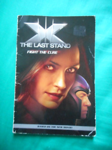 X-Men The Last Stand: fight the cure.