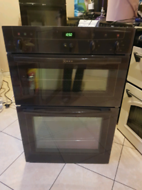 Neff double electric oven built in 60cm