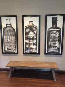 UPCOUNTRY 3piece art print set (originally $2,000)