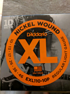 Guitar strings - Elixir d'Addario, Gibson and more in Port Hope