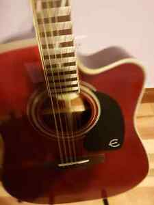 Epiphone pro 1 ultra acoustic guitar /electric