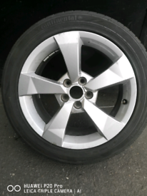 """AUDI A1 FACELIFT SPORT 16"""" ALLOY WHEEL X1 with TYRE"""