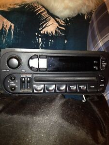Jeep factory radio/cd