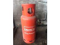 Calor 19 kg full propane gas bottle ideal for BBQ's