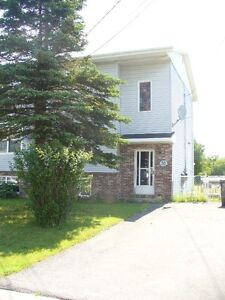 3 bdrm semi in heart of Sackville.. Available Sept. 1