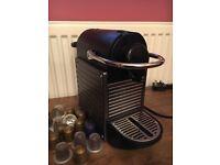 Nespresso Pixie coffee machine,