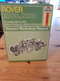Rover p6 manual