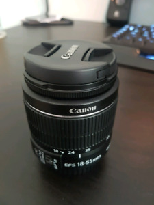 Selling Canon EF-S 18-55mm f/3.5-5.6 IS II Lens