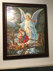 The angel and the children