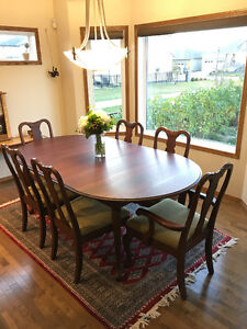 Solid Cherry Hand Crafted  Dining Set