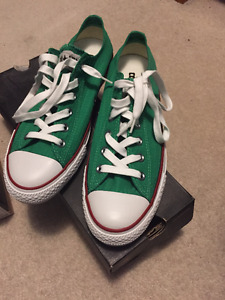 Converse Green Used Men's Size 8