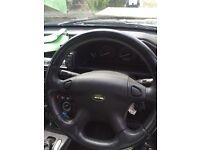 Freelander 1 black leather steering wheel