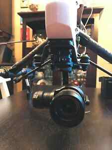 DJI Inspire Pro Drone with Dual Controllers + Extras