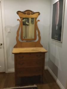 Commode ancienne en bois massif - Antique dresser in solid wood