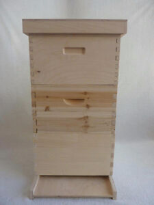 Fully assembled Beehive box and equipment