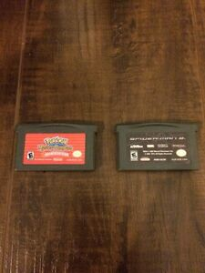 Nintendo Gameboy Advanced games