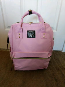 Anello pink medium size backpack