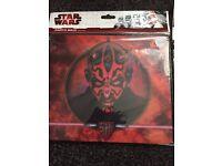 Star Wars mouse mat and darth vadar mask