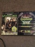 Goosebumps dvd movies