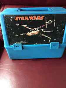 STAR WARS 1977 CANADIAN LUNCHBOXES with THERMOS ( Very Rare! )
