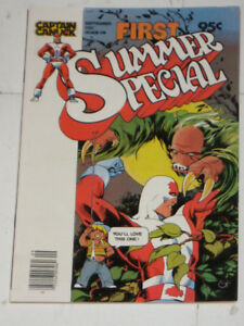 Comely Comix Captain Canuck 1st SummerSpecial#1(1980) comic book