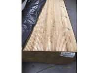 Timber decking 4800mm x 150mm