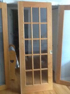 Oak Pocket Door