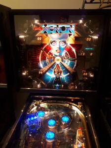 PINBALL MACHINE BALLY XENON FULLY RESTORED 4 PLAYER GREAT GIFT