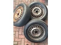 """Ford Transit Connect wheels and tyres 15"""" standard 195/65/R15 Van wheels Ford transit"""
