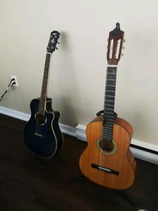 Guitars on sale