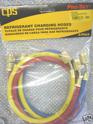 Cps Products 36 Charging Hose Set Wanti-blow-backs