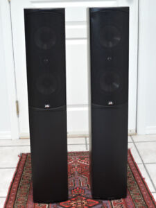 PSB Tower Speakers with Sony Amp and CD Player