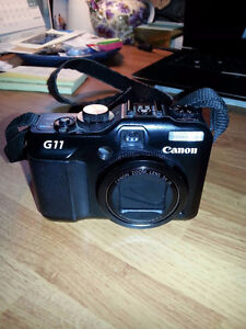 Canon PowerShot G11 10.0MP Digital Camera - Noir