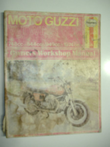 Moto Guzzi V-Twins Workshop Manual