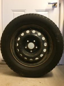 Michelin X-Ice Snows with Wheels